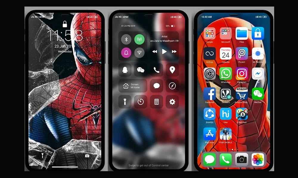 Download iOS Pro MIUI Theme for Xiaomi Phones [MIUI 10]