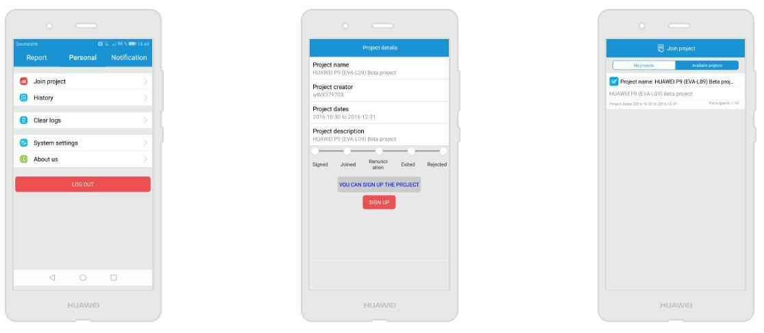 Inscriba el programa Android Pie Beta en el dispositivo Huawei