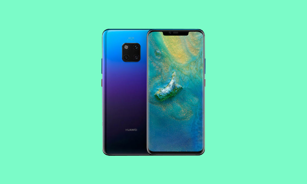 Download Huawei Mate 20 EMUI 9.1 with July 2019 Patch based on Android Pie