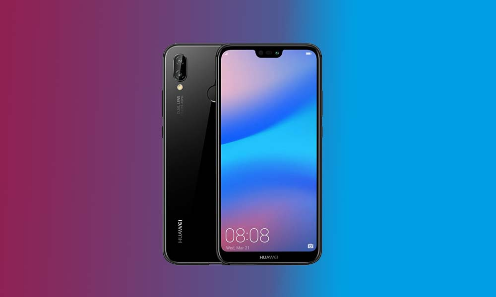 Download Huawei P20 Lite EMUI 9.1 with July 2019 Patch based on Android Pie