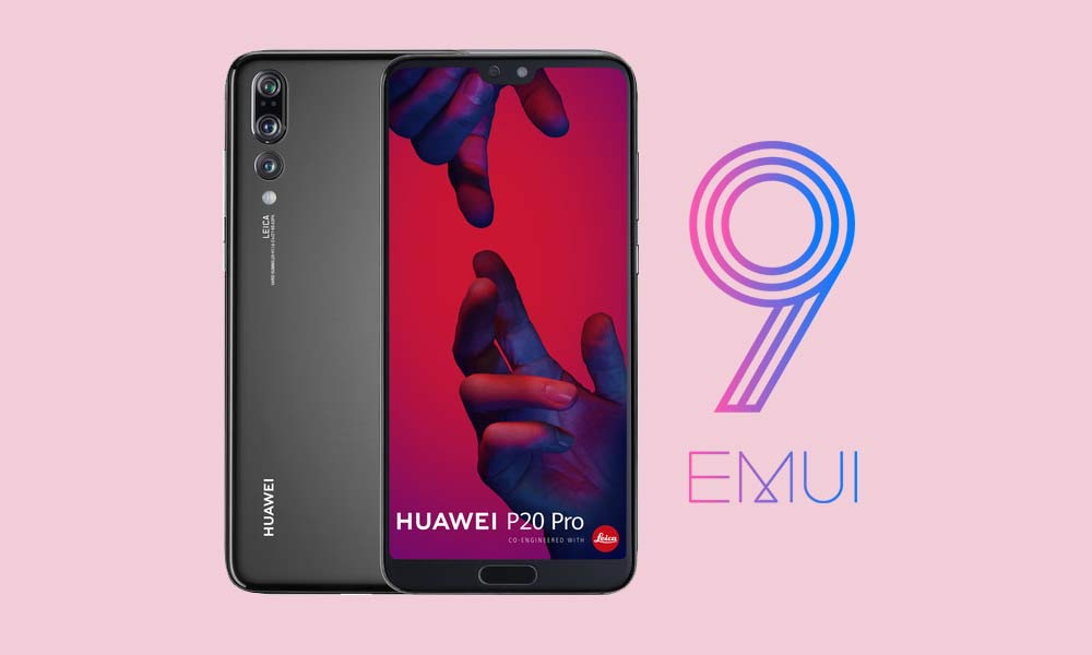 Huawei P20 Pro EMUI 9.1 with July 2019 Patch