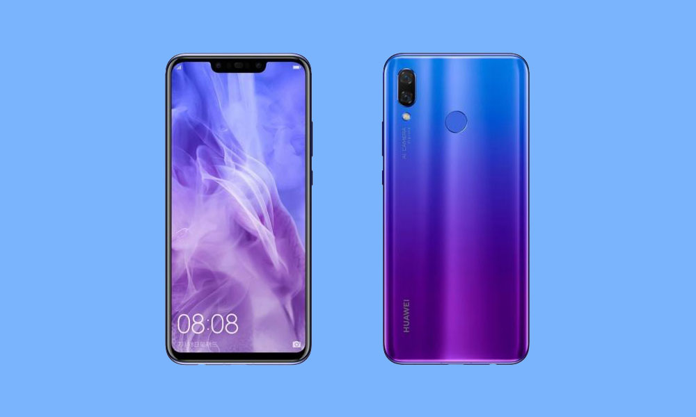 Download Huawei nova 3 EMUI 9.1 with July 2019 Patch based on Android Pie