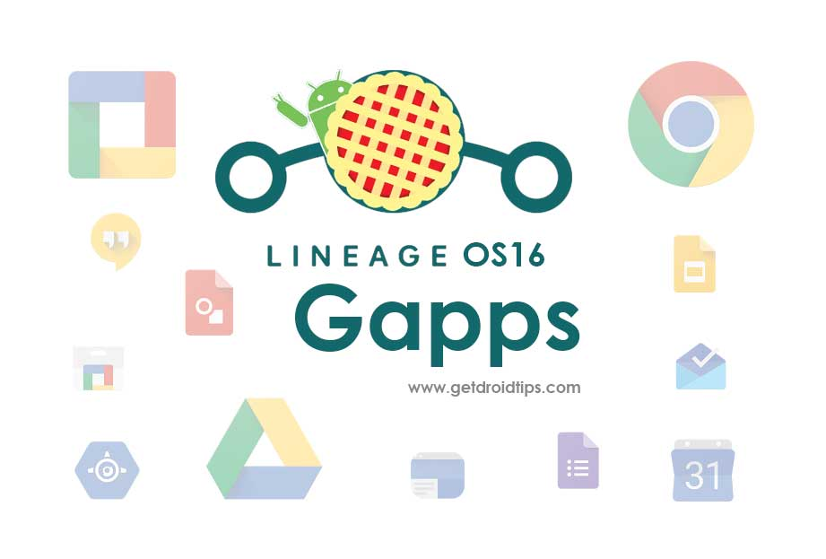 Download and Install Official Gapps For LineageOS 16
