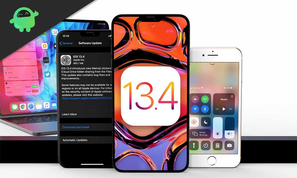 Download and Install iOS 13.4 or iPadOS 13.4 for iPhone and iPad [OTA Links]