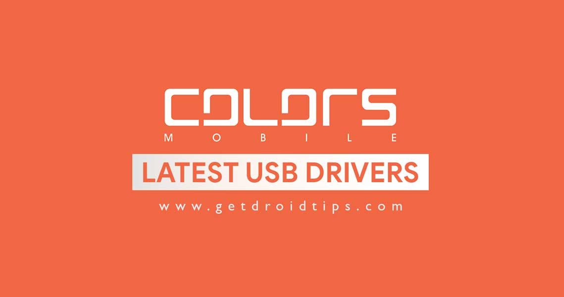Descargue e instale los controladores USB de Colors para Windows / Mac