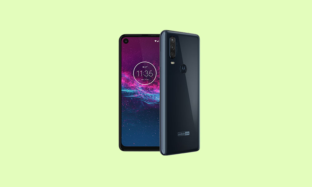 Motorola One Action Android 10 rolling with version QSB30.62-17