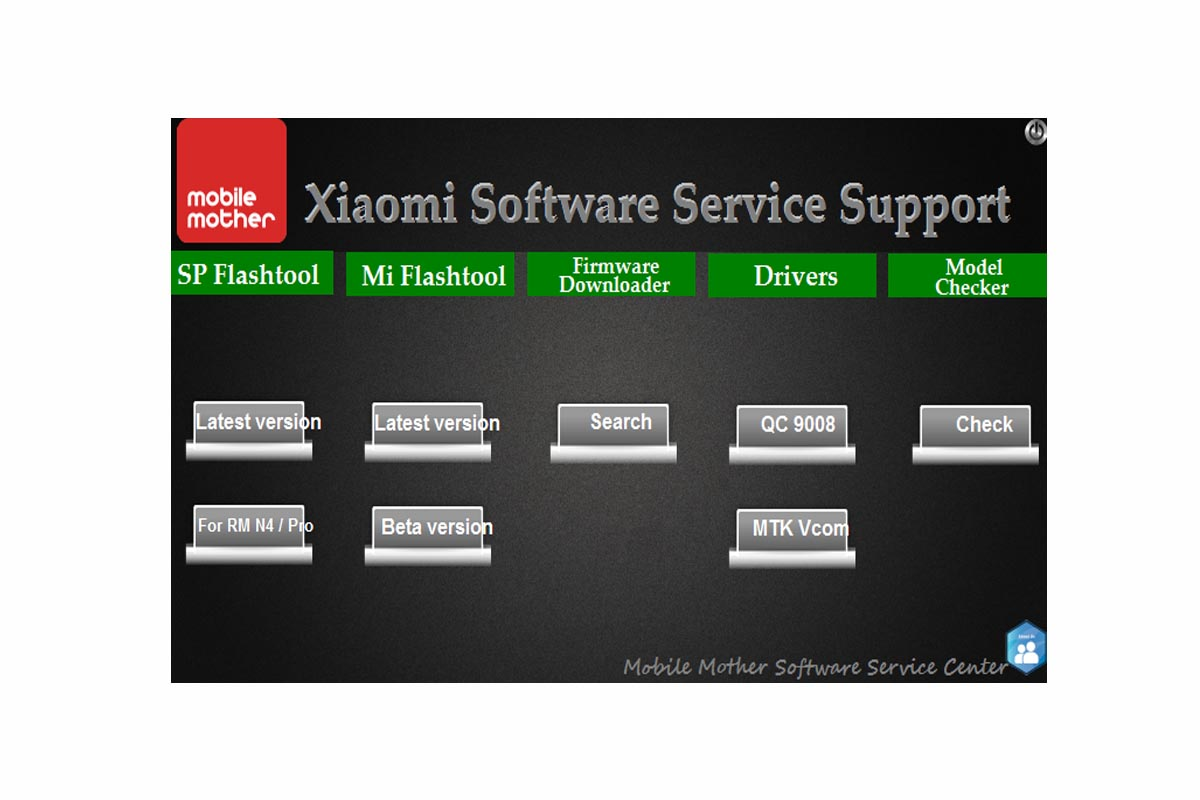 Xiaomi Software Service Support Tool