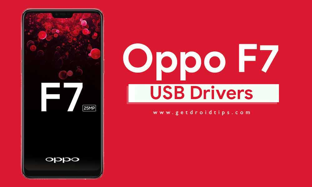 Download Latest Oppo F7 USB Drivers