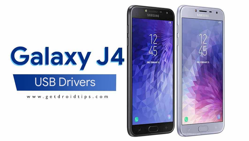 Descargue los últimos controladores USB Samsung Galaxy J4 y la herramienta ADB Fastboot