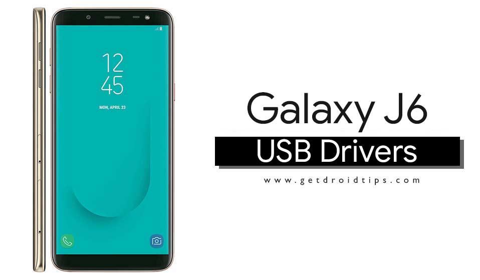 Descargue los últimos controladores USB Samsung Galaxy J6 y la herramienta ADB Fastboot