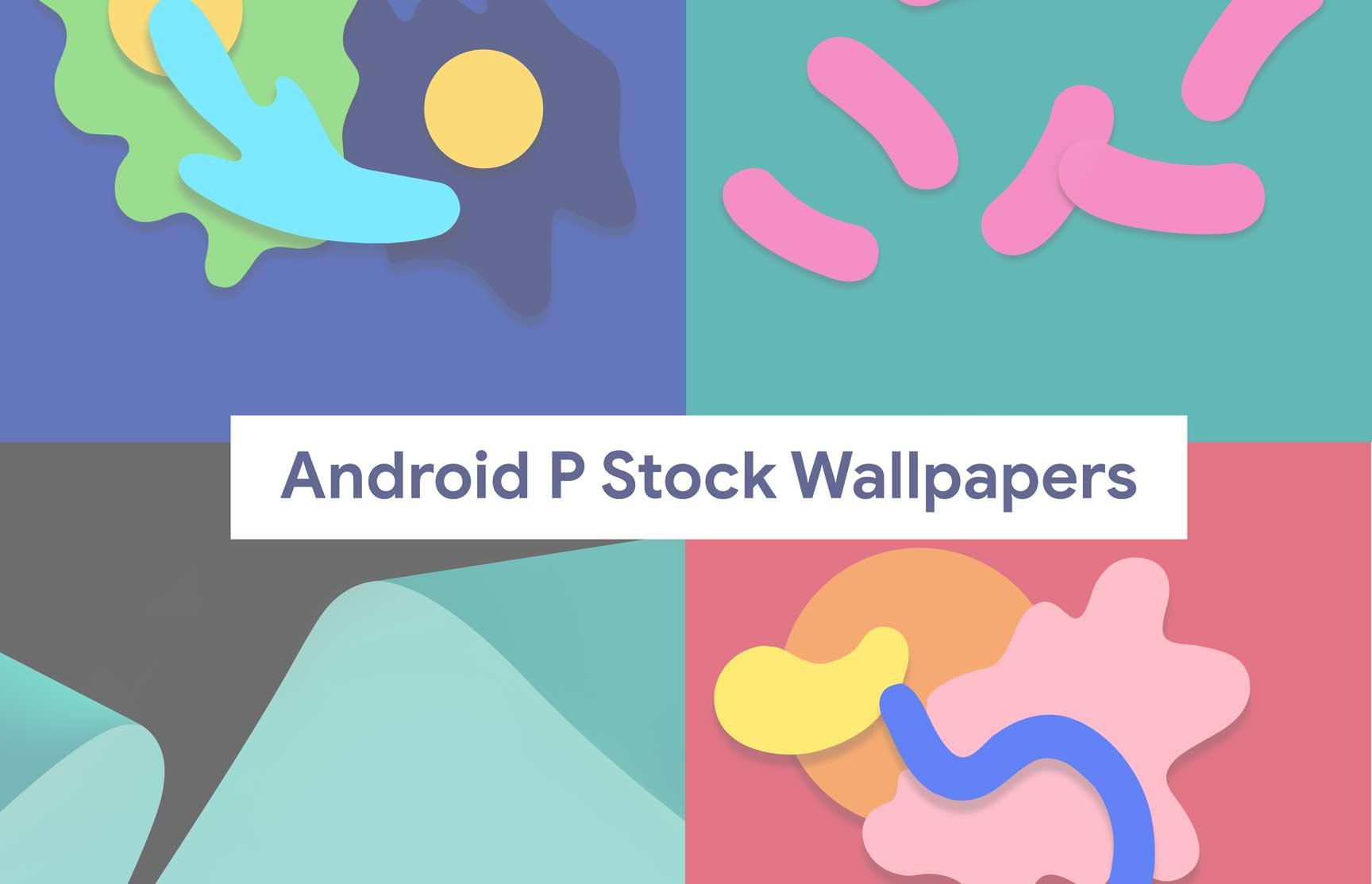 Descargue los últimos fondos de pantalla Android 9.0 Pie Stock