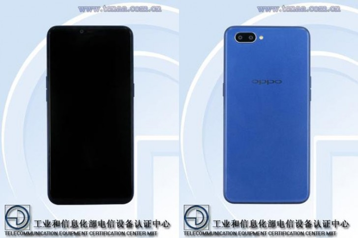 Oppo A5 design and specs confirmed by TENAA