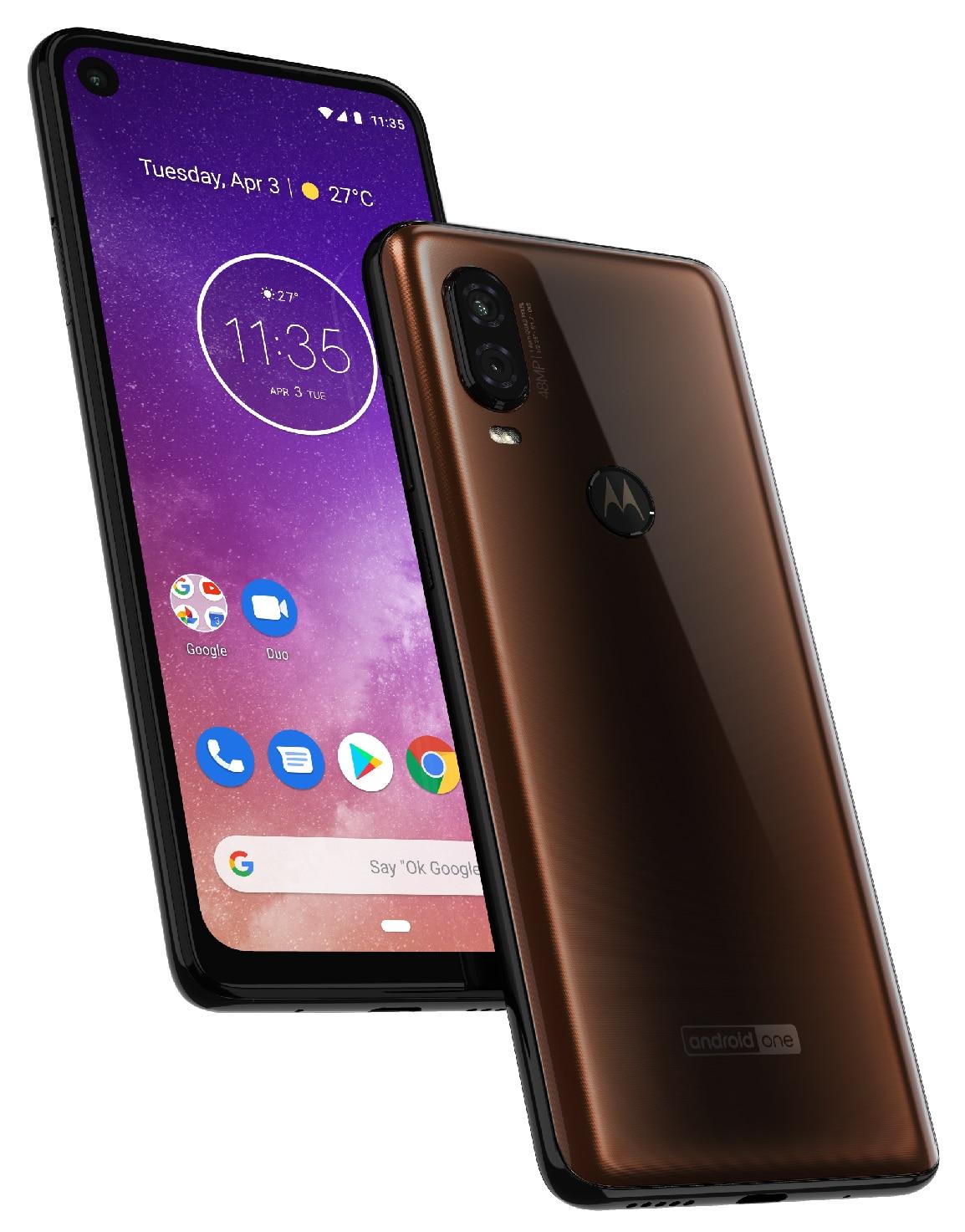 El Motorola One Vision se filtra, revela el diseño delantero y trasero