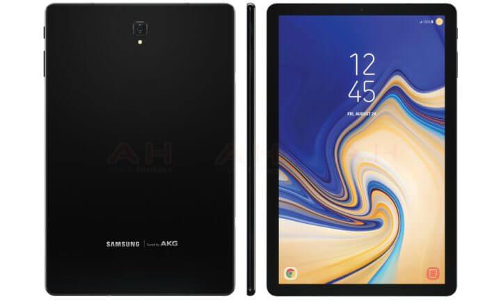 Samsung Galaxy Tab S4 Render se filtró en línea