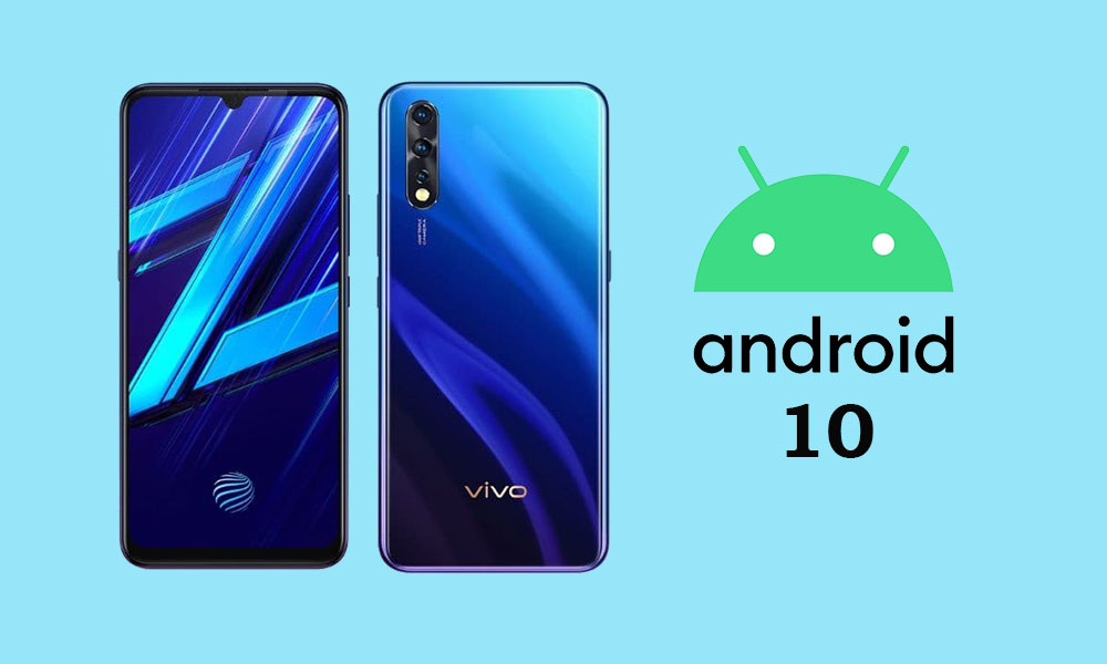 Vivo Z1x Android 10 Update Release Status