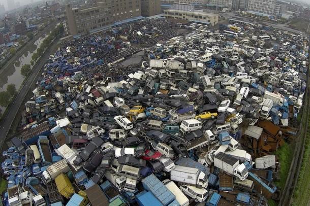 contaminación del depósito de chatarra de china 2