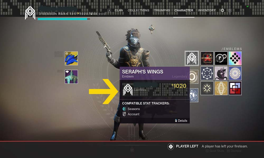 Destiny 2 Almighty Live Event- How To Get Seraph