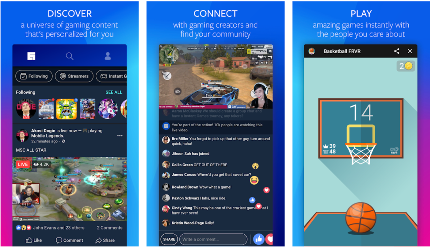 Facebook Gaming Hub (fb.gg) Android Beta Version Released