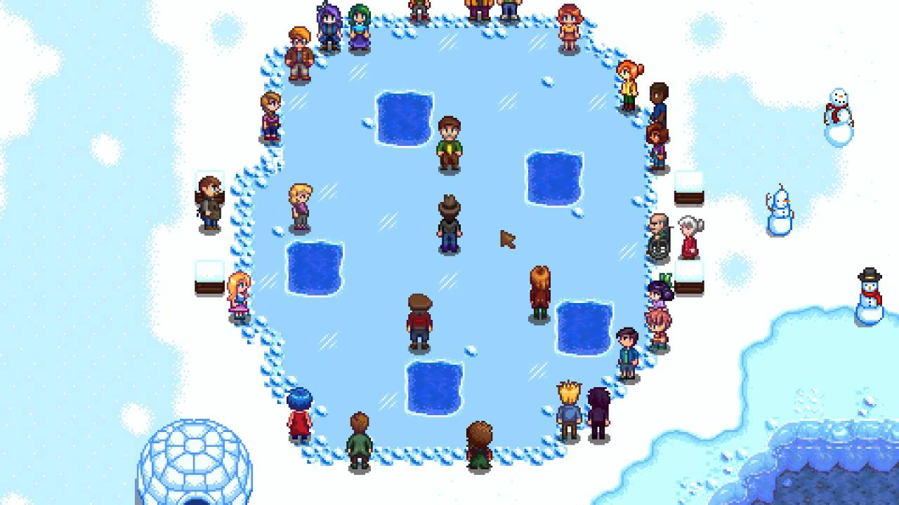 Stardew Valley Festival of Ice and Competition Guide