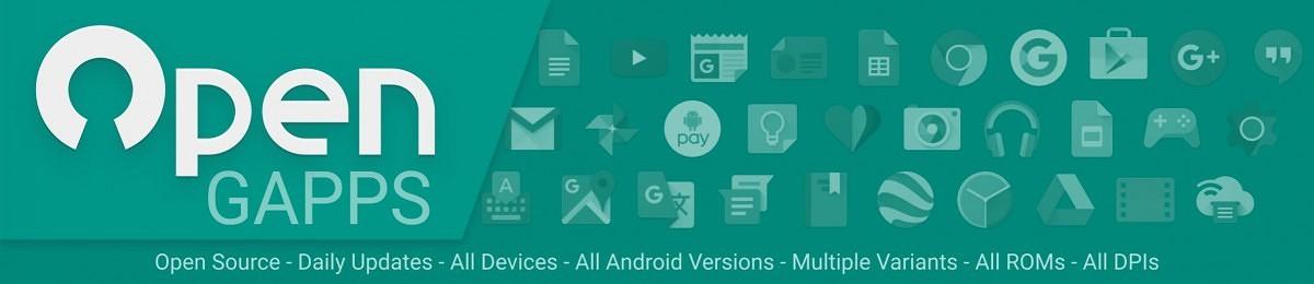 Gapps abiertos para dispositivos ARM y ARM64 en Android 10 / 8.1 / 9.0 Pie [2020]