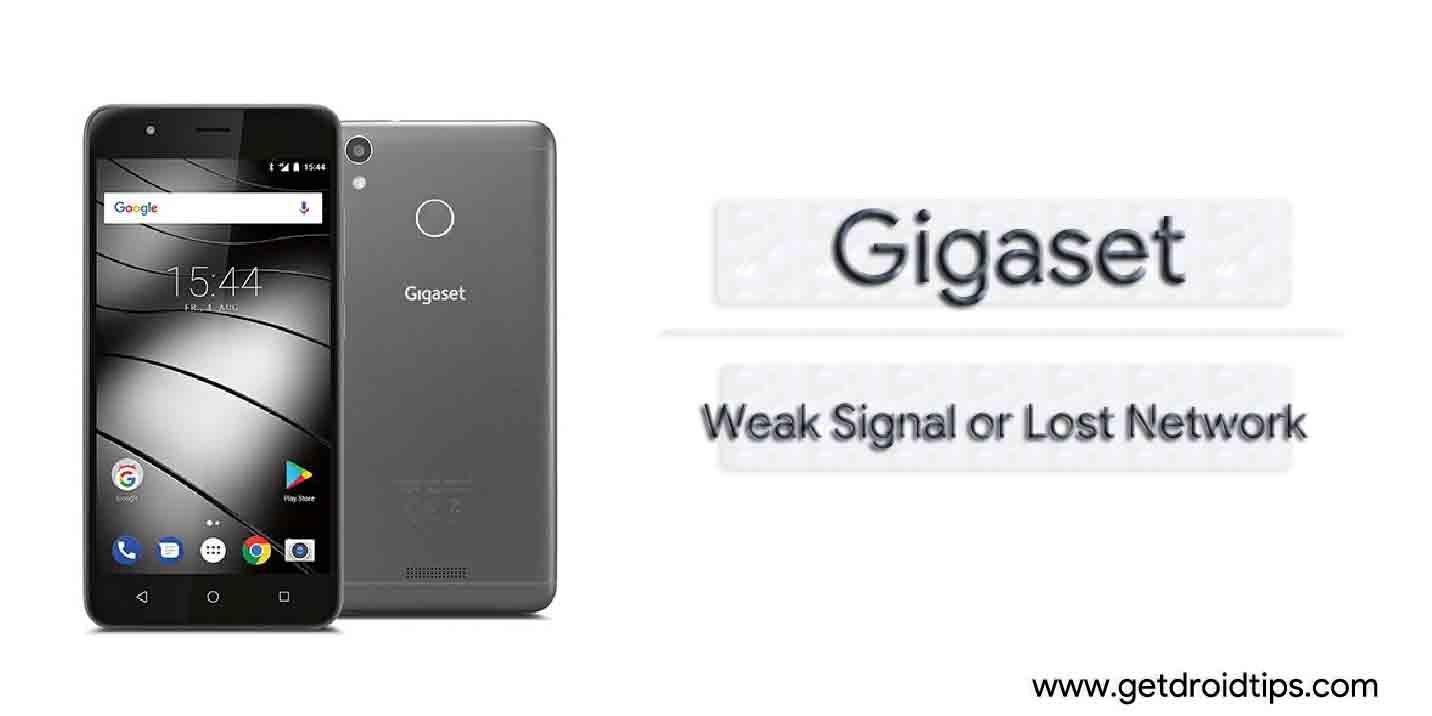 Guía para reparar la señal débil de Gigaset o el problema de red perdida