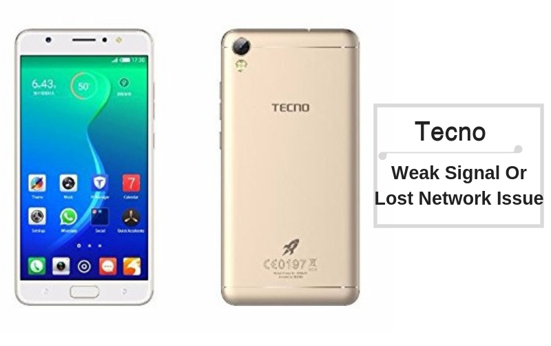 Guide To Fix Tecno Weak Signal Or Lost Network Issue