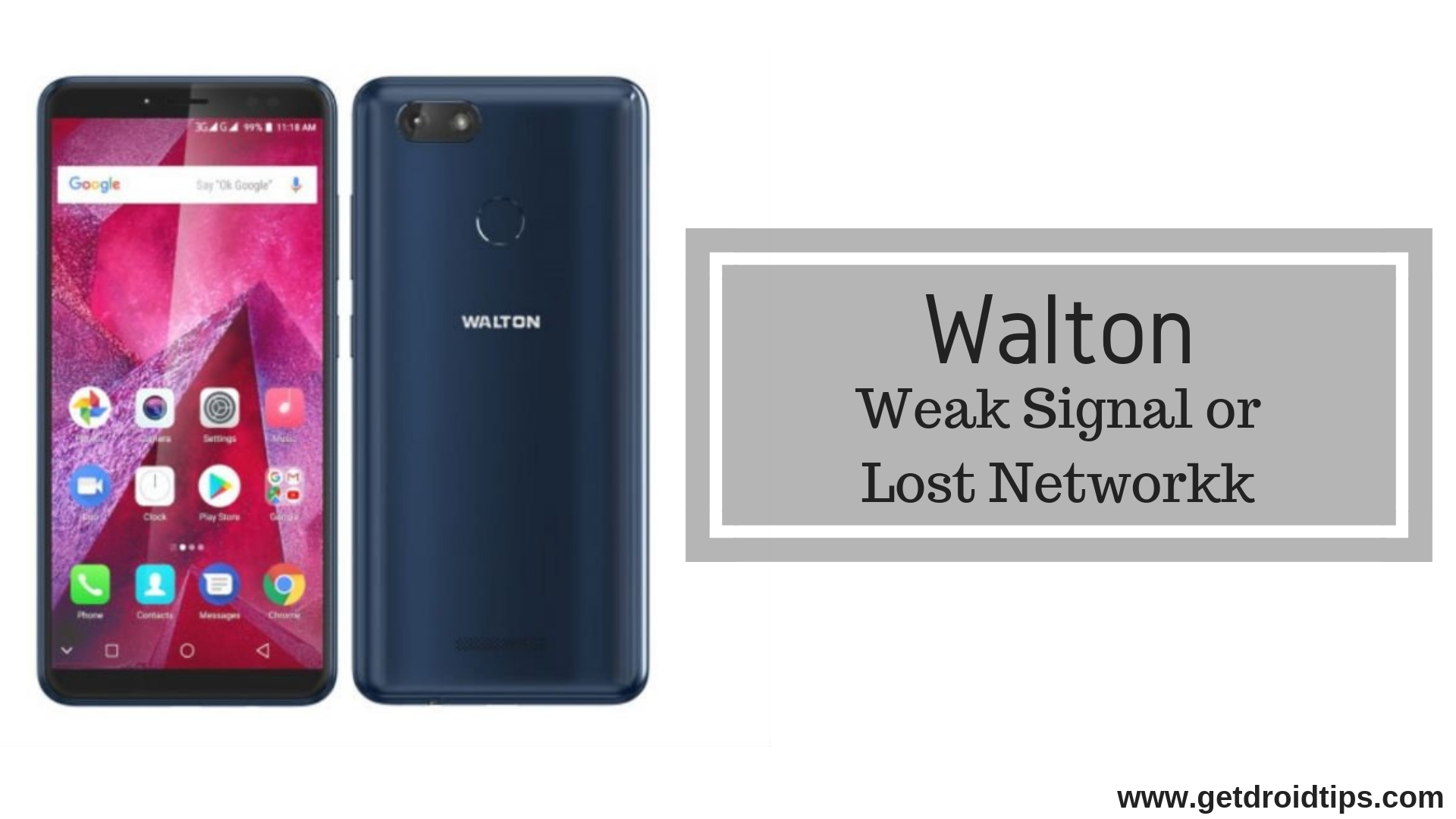 Guide To Fix Walton Weak Signal Or Lost Network Issue