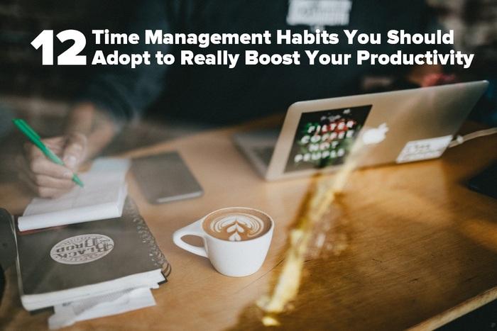 12 hábitos de gestión del tiempo que debes adoptar