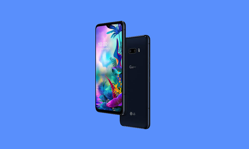 LG G8X ThinQ Stock Wallpapers Download in FHD+ Resolution