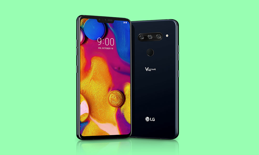 LG V40 ThinQ in South Korea received Android Pie update with May 2019 patch
