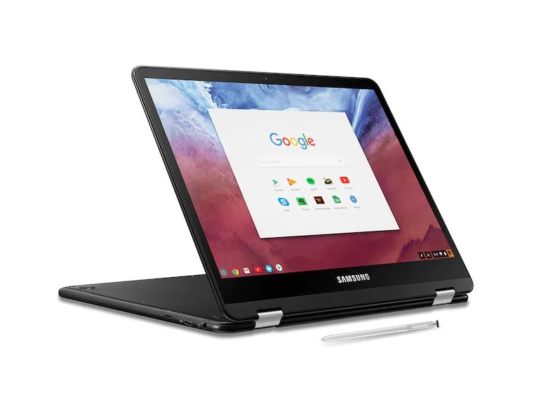 Samsung Chromebook Pro con Chrome OS
