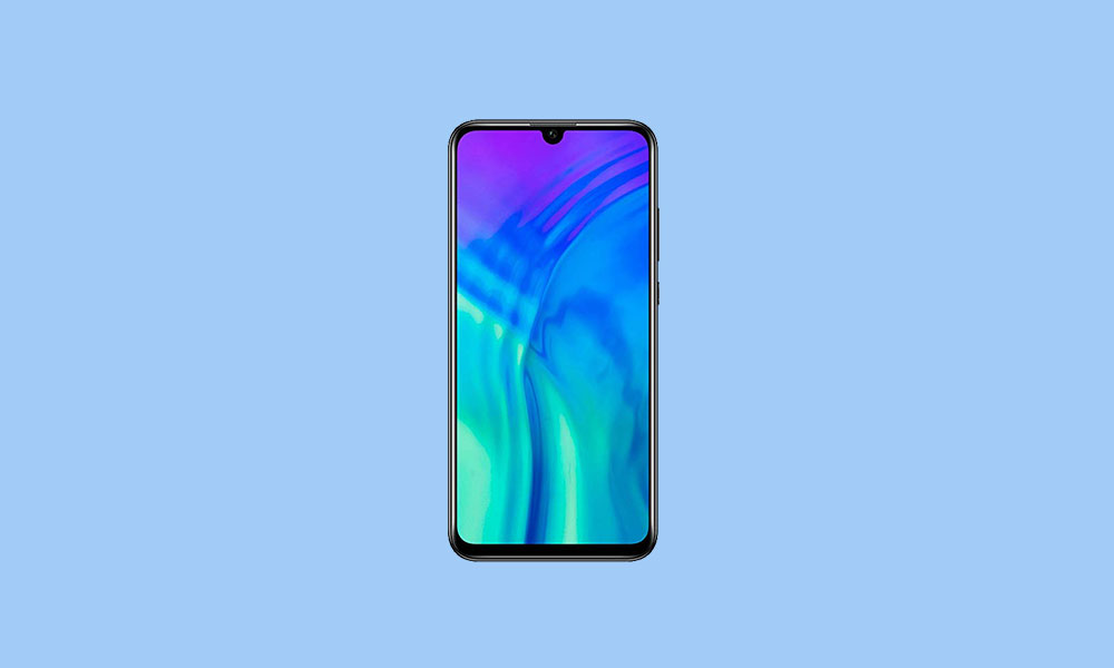 Honor 20i EMUI 10 software update brings Android 10, December 2019 Security Patch
