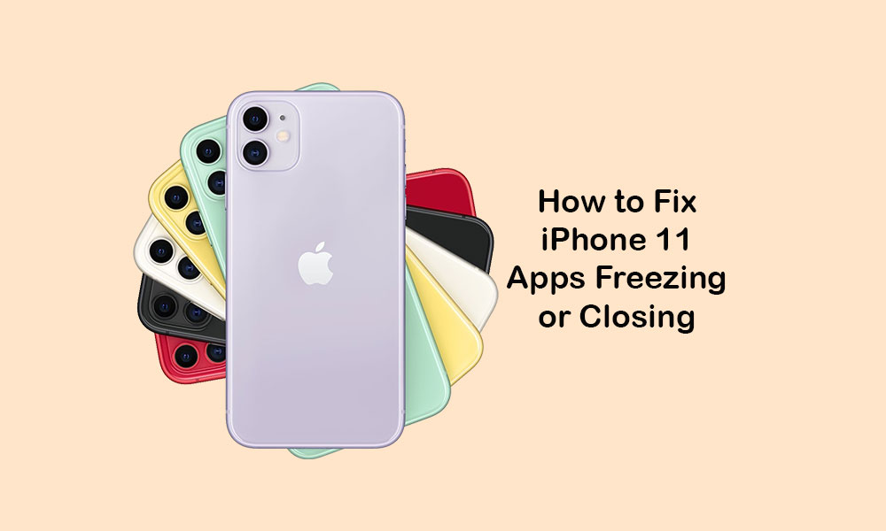 iPhone 11 apps are freezing and closing randomly. How to fix?