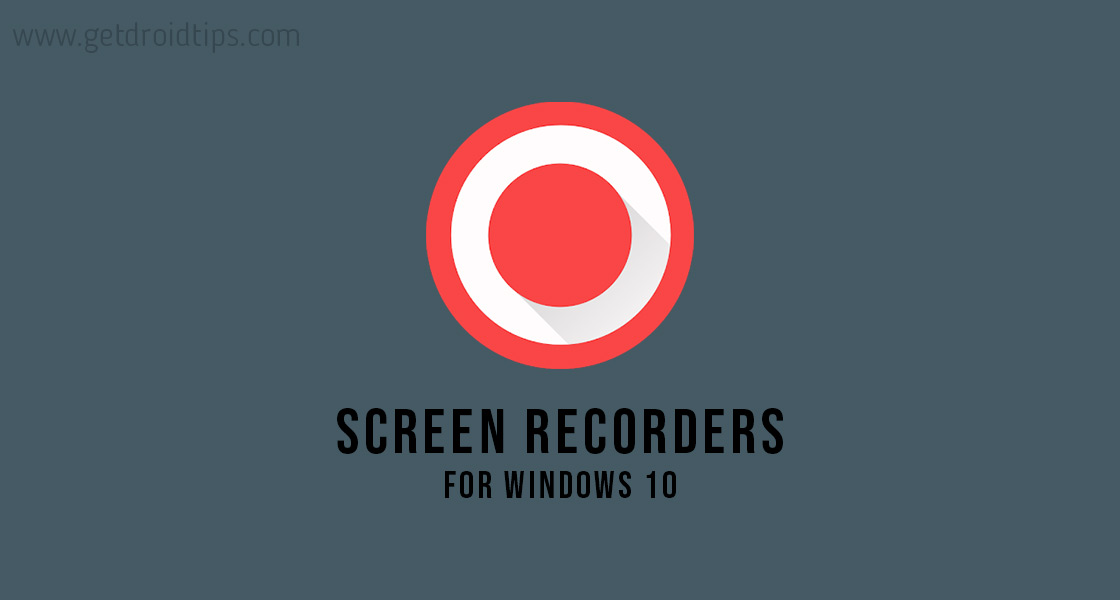 Best Screen Recorder Apps for Windows in 2020