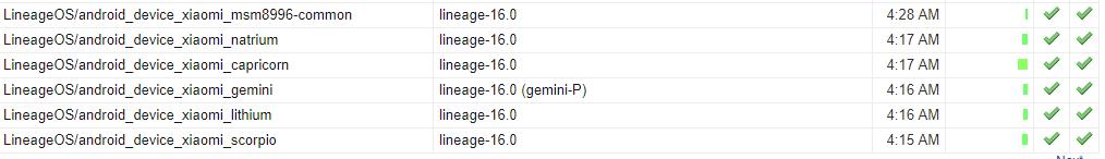 Linage OS 16 Xiaomi