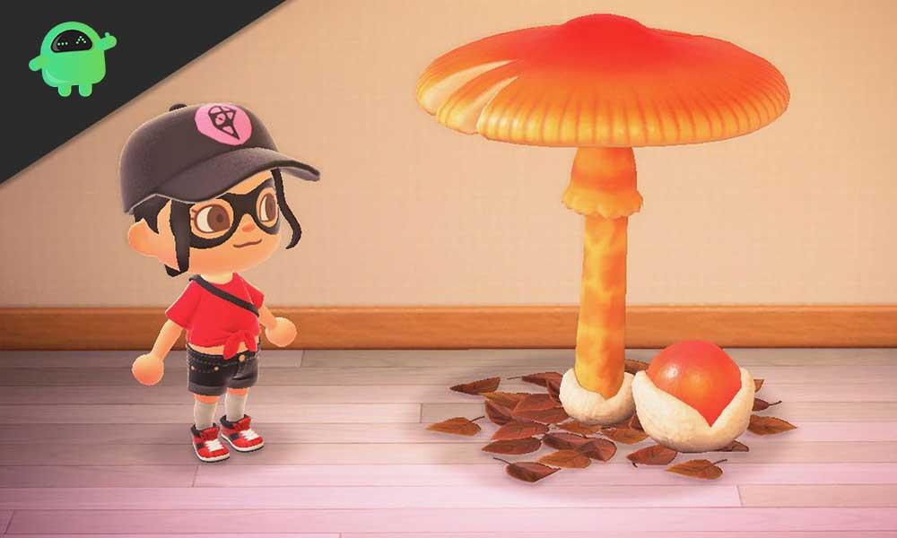 Lista de recetas de bricolaje de hongos de temporada: Animal Crossing New Horizons