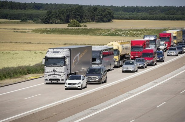 Daimler Future Trucks Autonomous Trucks todo listo para 2025 8