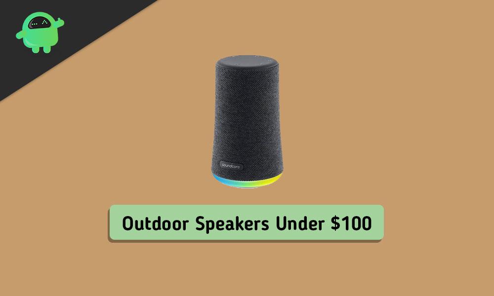 Best Outdoor Bluetooth Speakers Under $100