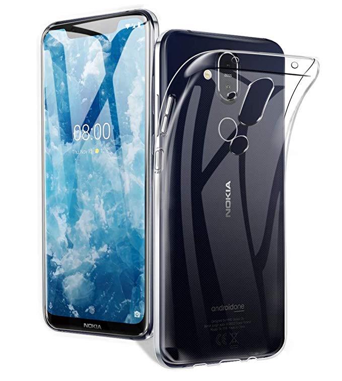 Avidet Clear Case for Nokia 8.1