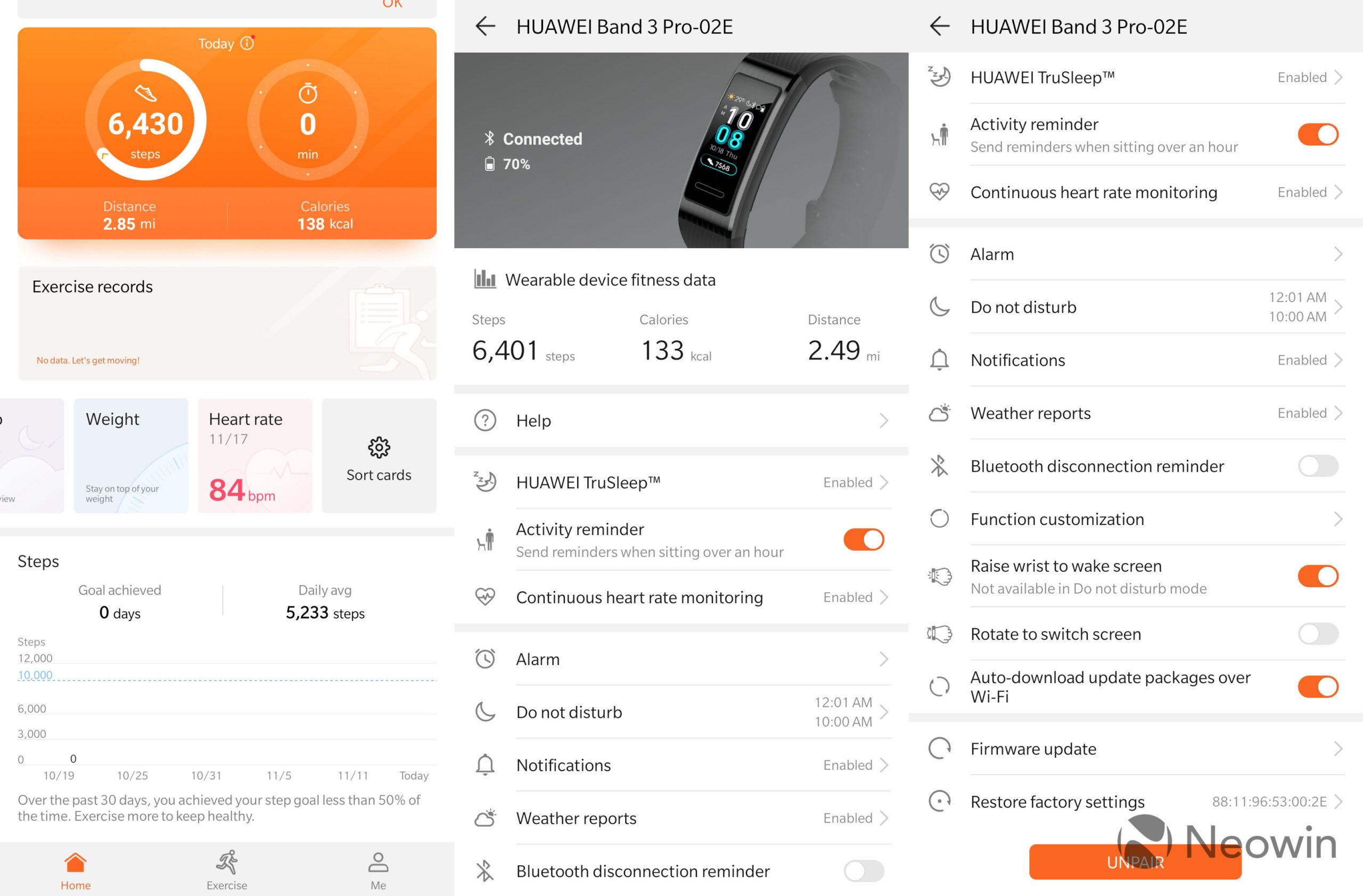 Los problemas de datos de sueño de la aplicación Huawei Health se resolvieron con la última actualización