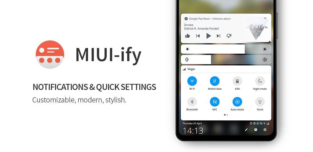 MIUI-ify app