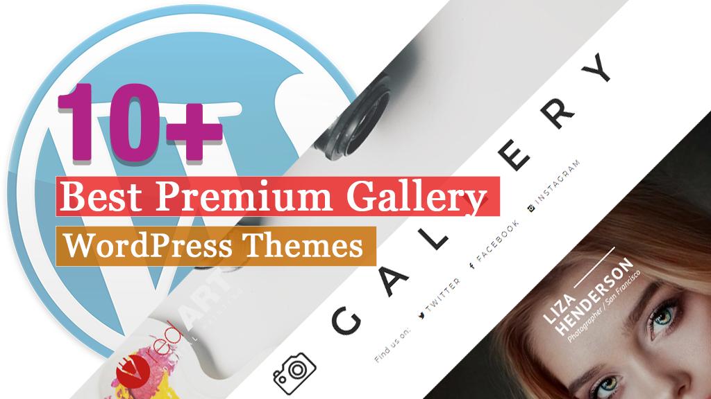 Los mejores temas de WordPress para la Galería Premium