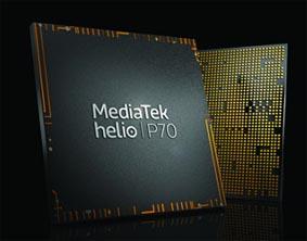 MediaTek presenta el chipset Helio P70: apunta a una mejor inteligencia artificial y juegos receptivos