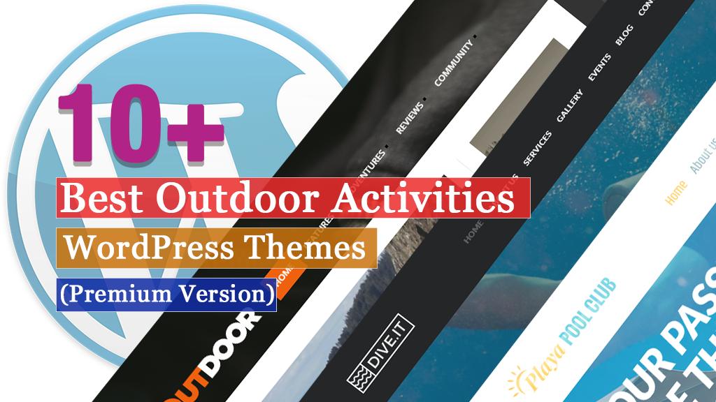Los mejores temas de WordPress para actividades al aire libre premium
