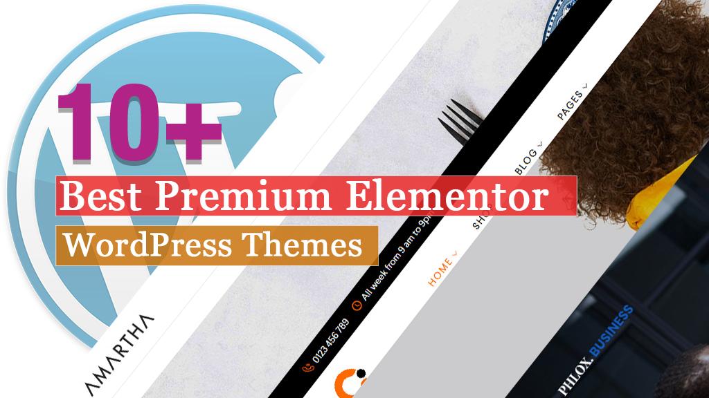 Los mejores temas premium de Elementor WordPress