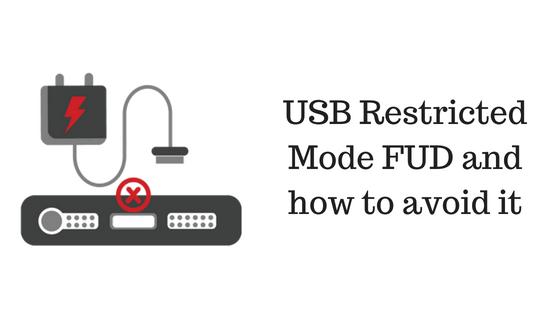 Modo restringido USB FUD y cómo evitarlo