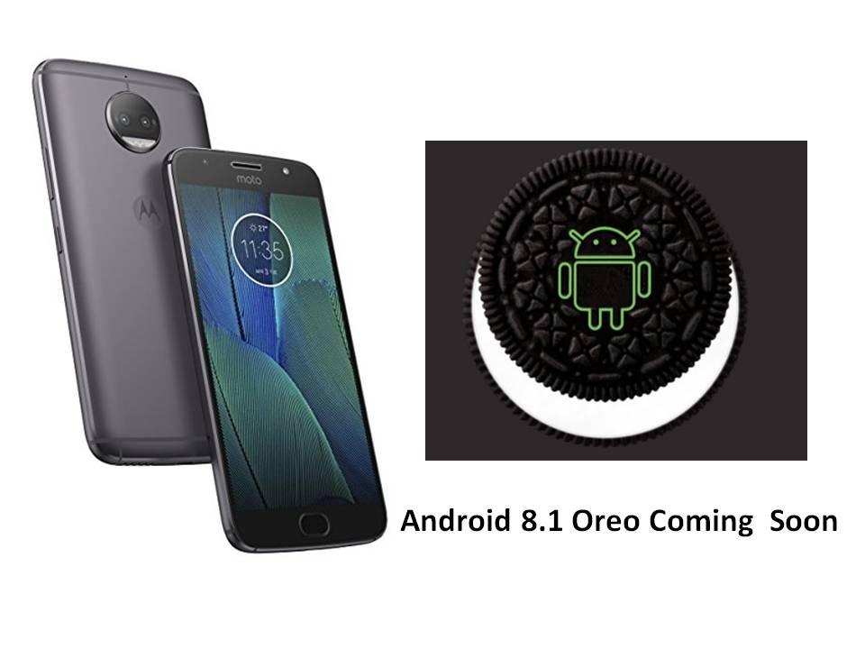 Moto G5s Plus Android 8.1 Oreo se lanzará pronto con el parche de seguridad de junio de 2018