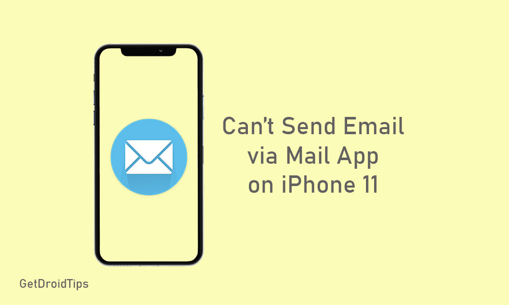 Cannot Send Email Through Mail app on iPhone 11 - How to fix