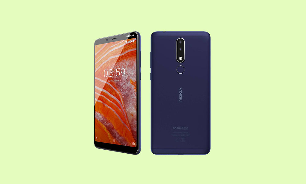 Nokia 3.1 Plus receives January 2020 Security patch