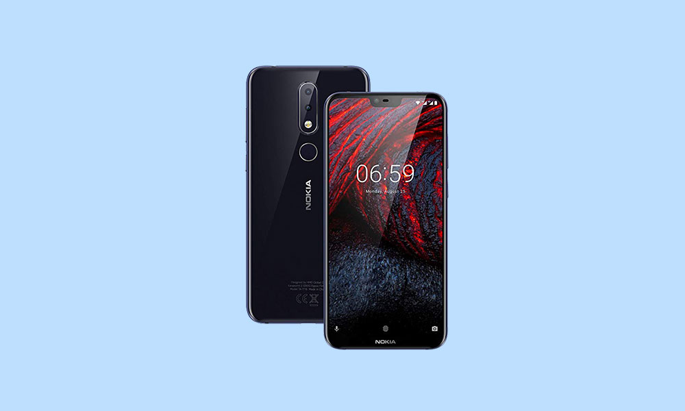 Nokia 6.1 Plus receiving Android 10 update (V4.10C)